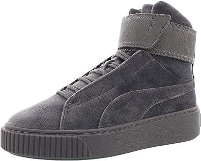 Platform Mid Velour WNS Sneaker