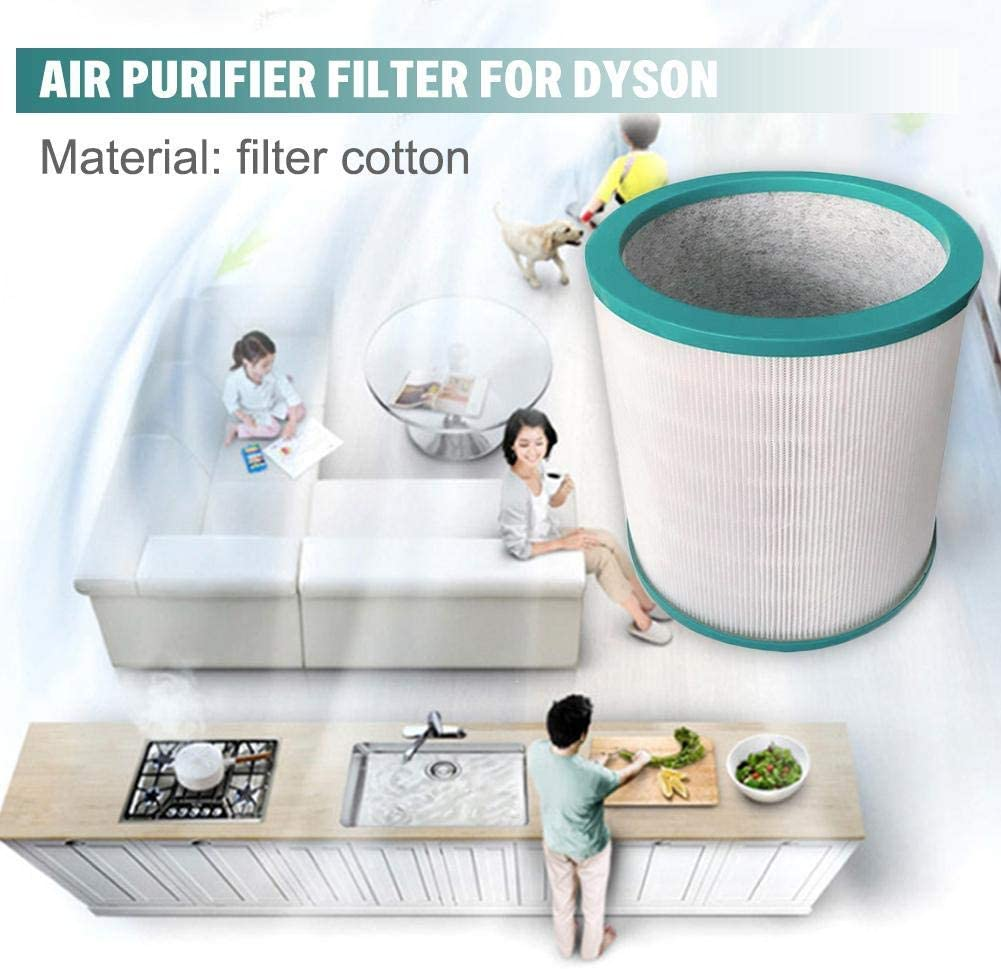 Filtro HEPA de repuesto para Dyson Pure Cool AM11, Link, TP00 ...