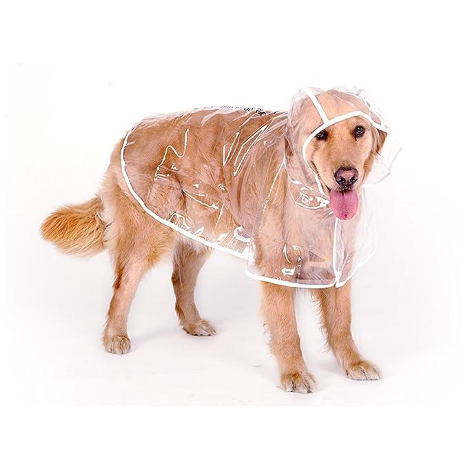 sanming Transparent Hund Regenmäntel Fashion Hund Regen
