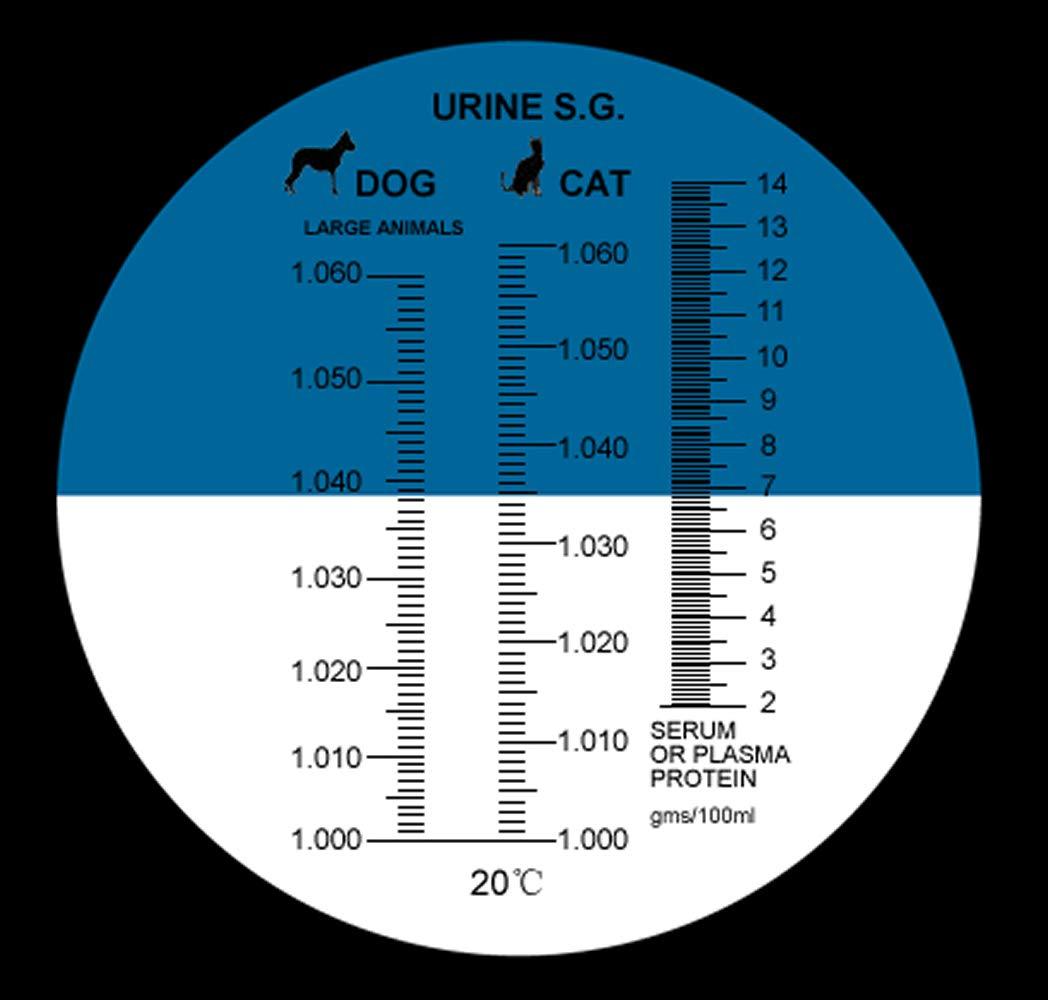 Urine Specific Test ATC Refractometer HR305 Dog & Cat Rhino ...
