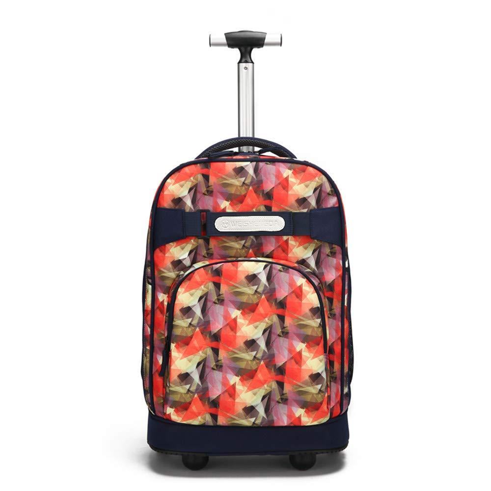 ホイール付き多機能トラベルバッグ大容量旅行バックパックビジネス荷物バッグスクールトロリーバッグプルロッドスーツケース  C B07MNN8KNL