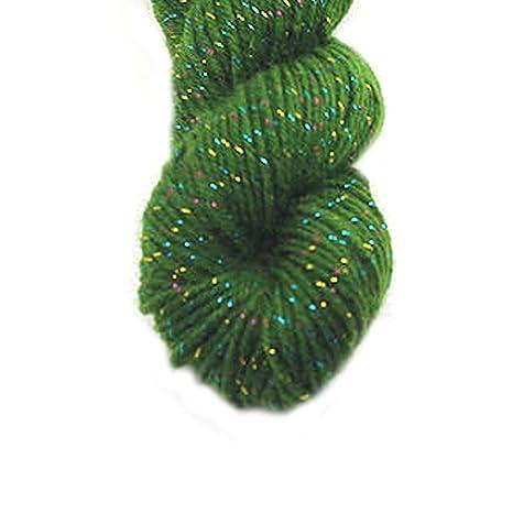 Acrílico de lujo el hilado de lana para hecha a mano de la bufanda del suéter de hilo con la Línea de Oro-Negro