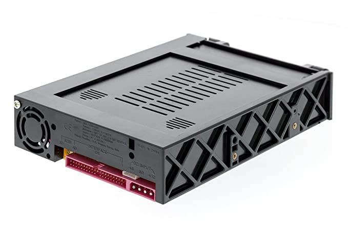 Aleratec SATA 3.5-Inch Hard Drive Mobile Rack for 5.25-Inch Bay with Fan