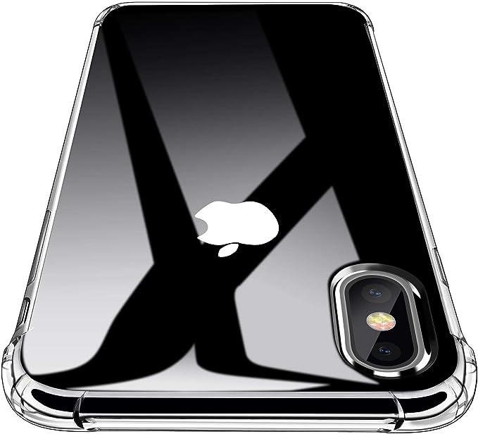 CUSTODIA per APPLE IPHONE X IPHONE XS (5.8) IN GEL TPU SILICONE