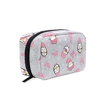 Amazon.com: Neceser de aseo de pingüino bolsa de cosméticos ...