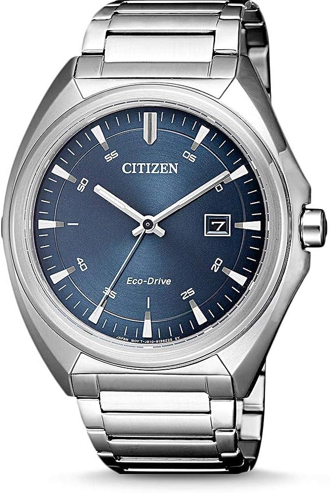 Citizen Reloj Analógico para Hombre de Cuarzo con Correa en Acero Inoxidable AW1570-87L
