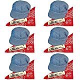 Childs Train Conductor Dress Up Kit - Hat, Whistle, and Bandana (6 per package)