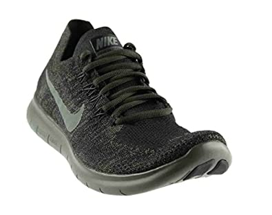 a1eaa8213ef3 ... norway nike mens free rn flyknit 2017 running shoe black river rock  anthracite 6.5 05f5c c6a84