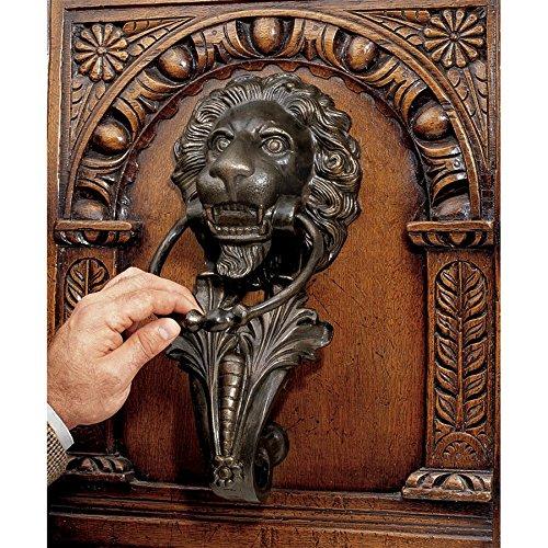Design Toscano Florentine Lion Iron Door Knocker