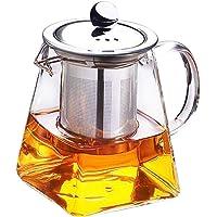 Grizack - Tetera de Cristal Resistente al Calor
