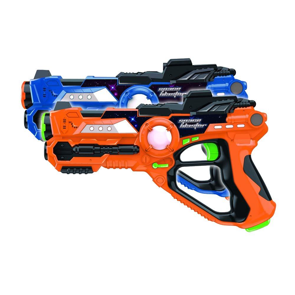 Laser Tag-Laser X Recoil Laser Tag Lasers Gun Toy Gun Set 2-Player Space Blaster Toys for Boy Gift Laser Tag Sets with Gun Games by Toyard (Image #7)