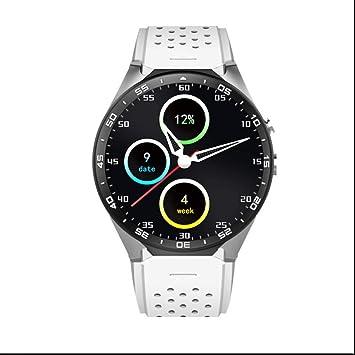 Montre Connectée 3G WiFi Smart Watch Téléphone carte Nano SIM avec GPS Camera Moniteur De Fréquence