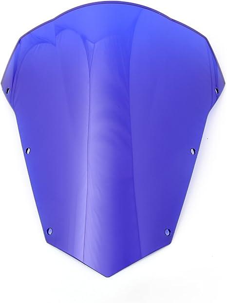 Topteng Motorrad Windschutzscheibe Sport Windschutzscheibe Mit Abs Aerodynamik Design Für Yamaha Fz6 Fazer 2003 2008 Auto