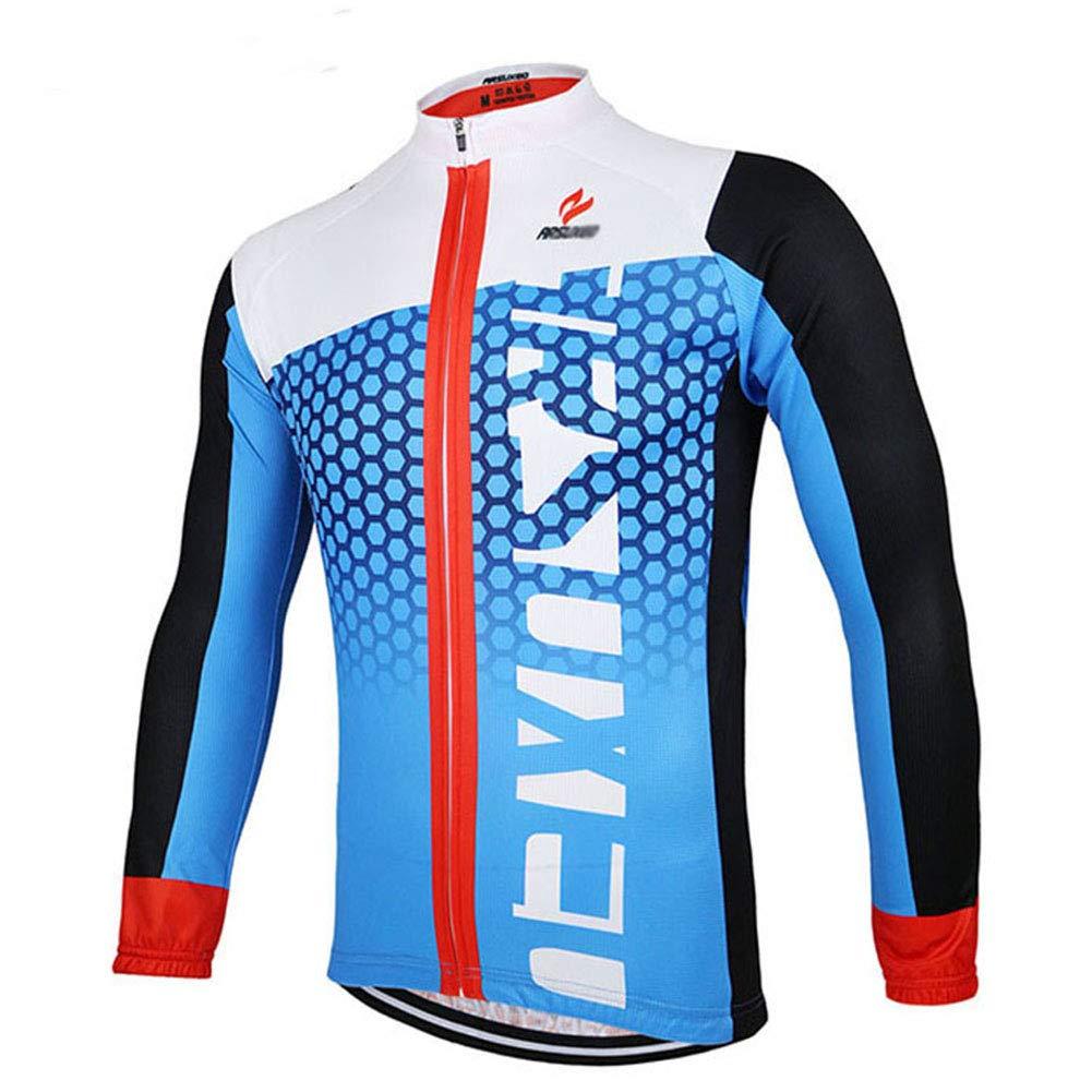 QWERT Herren Radtrikot Fahrrad-Lange Hülsen-Berg MTB Jersey Kleidung Shirts