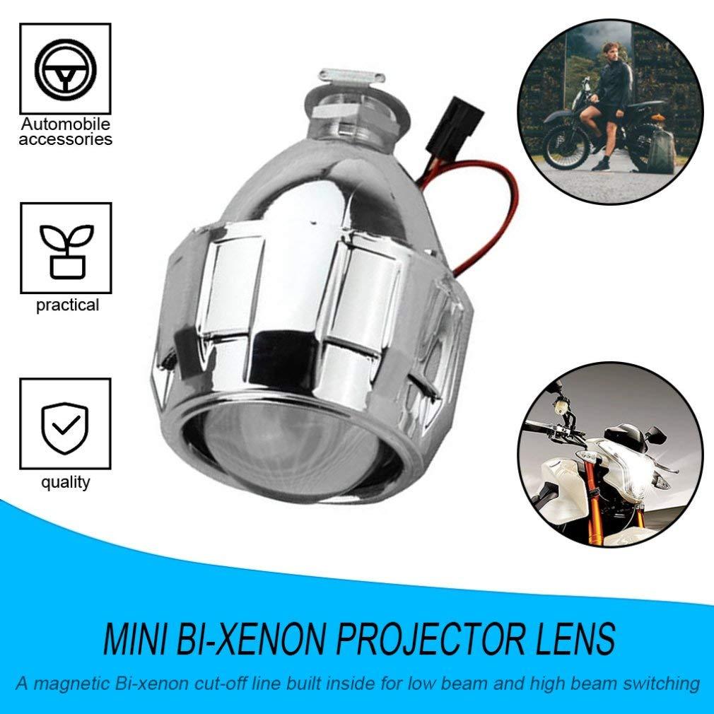 leoboone 2,5 pulgadas Xenon Mini Bi-xenón HID Borrar la lente del ...