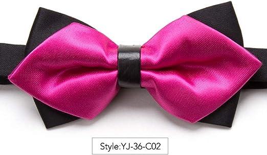 ZXCVBN - Corbata de moño para Hombre, Ajustable, diseño de ...