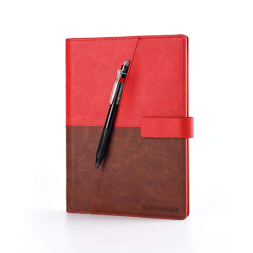 YSZDM Notebook Inteligente, rocketbook Wave Reutilizable borrable Nube Almacenamiento Notebook Escuela Oficina casa como Diario Suministros Cuaderno ...