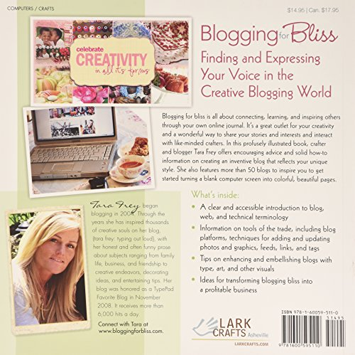 Blogging-for-Bliss-Crafting-Your-Own-Online-Journal-A-Guide-for-Crafters-Artists-Creatives-of-all-Kinds