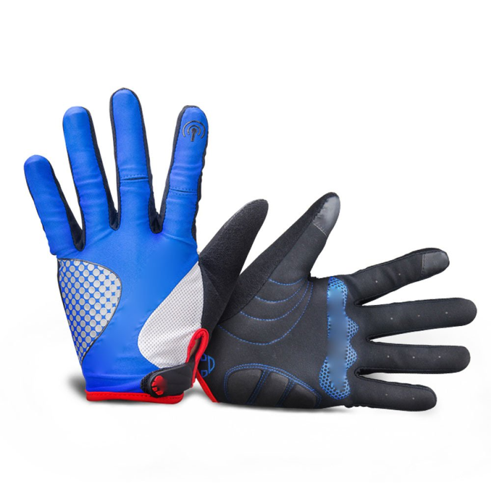 LDFN Outdoor-Schutz-Handschuhe Anti-Skid Wear Für Laufen Fahren Skifahren Skating Klettern Training,E-M