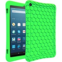 Fintie Silicone Case for Amazon Fire HD 8 (Green)