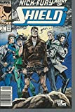 Nick Fury Agent of Shield #1 1989 Marvel Fine to Very Fine off-white to white pages