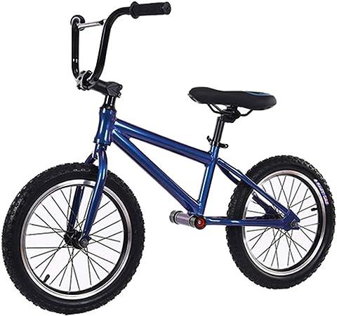 Bicicleta sin pedales Bici Regalo de cumpleaños de Navidad para niños Grandes/Adultos, Ruedas de Aire de 16 Pulgadas y Marco de Aluminio Ligero, Edad 10+ (Color : Blue): Amazon.es: Hogar