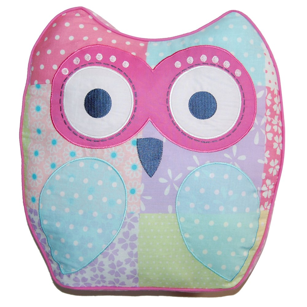 Cozy Line Home Fashions Decorative Pillow, Cute Owl