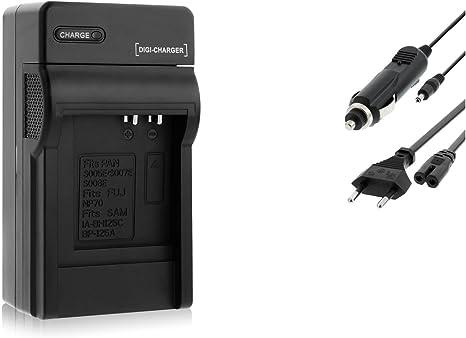 Chargeur (AutoSecteur) pour CGA S007 Panasonic Lumix DMC