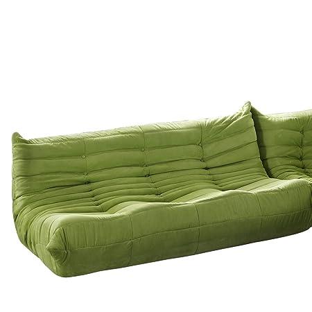 Michel Ducaroy Togo Sofa In Green Fmp252210 Amazoncouk Kitchen