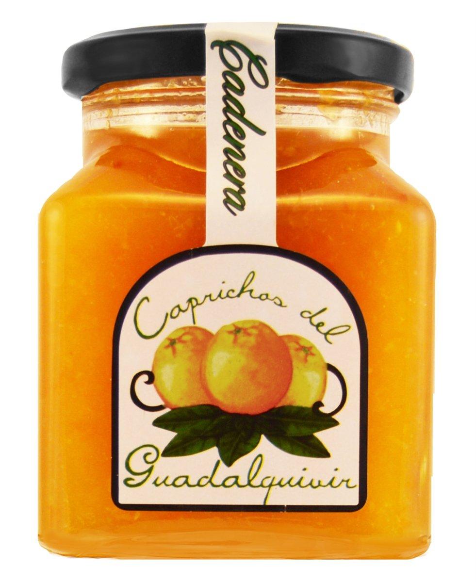 Caprichos del Guadalquivir, Set of 2 Jars, Cadenera Orange Marmalade from Fresh Oranges, Imported from Spain, 11.5 Oz Each