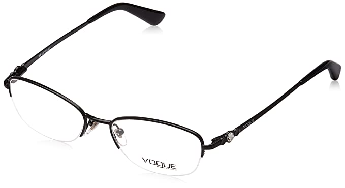 30b814ab7d6 Image Unavailable. Image not available for. Colour  Vogue Standard Oval Eye  Frame ...