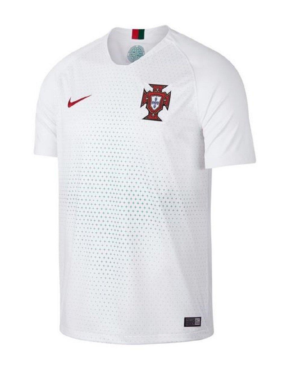Blanc M Nike Portugal Maillot Away Coupe du Monde 2018 Garçon
