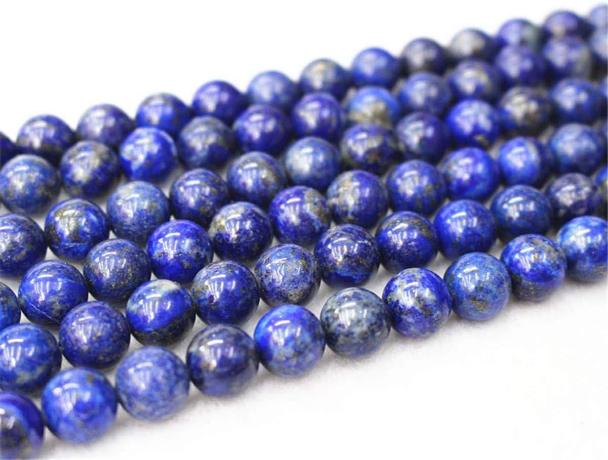 Cuentas de lapislázuli natural al por mayor, 4 mm, 6 mm, 8 mm, 10 mm, 12 mm, lapislázuli natural, cuentas lisas y redondas, cuentas al por mayor de Lapis Lazuli. Cuentas al por mayor.
