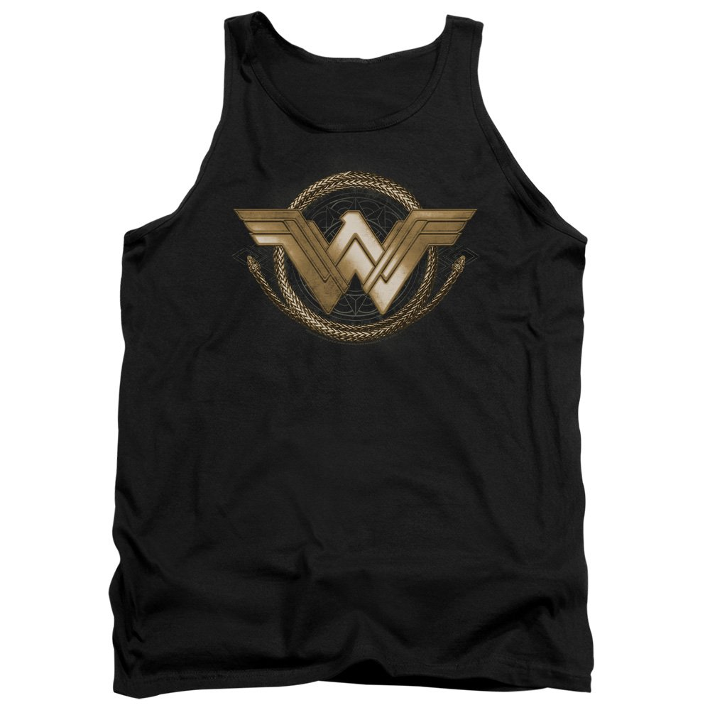 Wonder Woman Movie - Lasso Logo Tank Top Trevco
