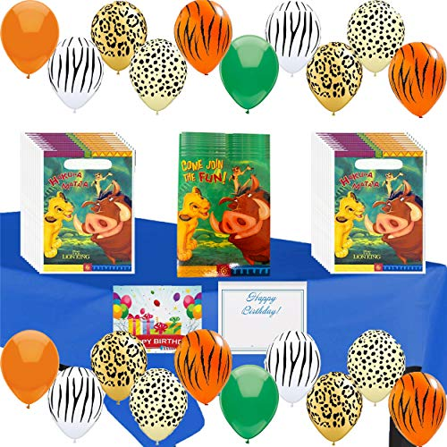 Disney The Lion King Deluxe Party Pack - Party The Lion Supplies King