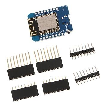 F Fityle Mini WiFi Tarjeta de Desarrollo ESP de 8266 ...