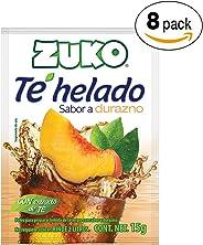 Zuko Té Negro Durazno, 120 g, Display con 8 Sobres