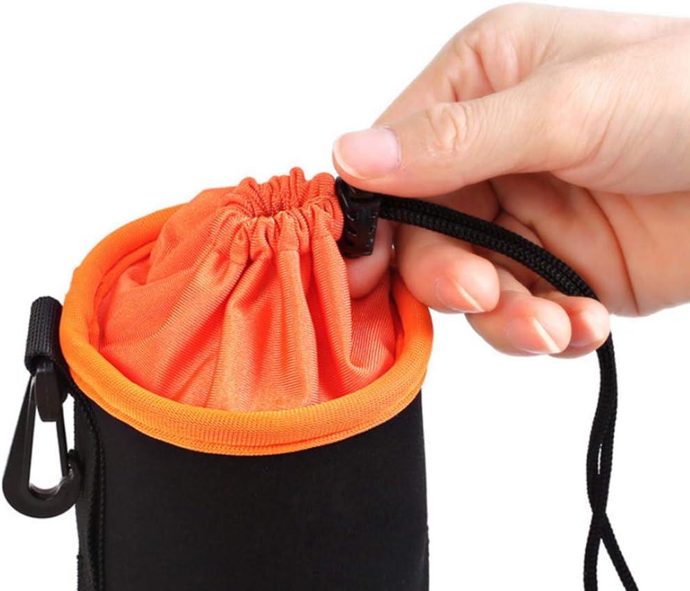 Jzenzero 4Pcs//Set DSLR Camera Lens Protector Bag Soft Neoprene Carry Pouch Case Kit