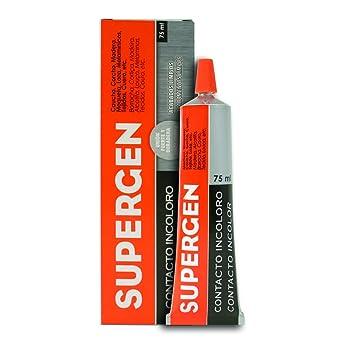 SUPERGEN Adhesivo de contacto, tubo de 75 ml: Amazon.es: Industria ...