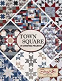 quilt designs - Town Square 20 Christmas Projects Quilt Patterns by Town Square, by Doug Leko of Antler Quilt Design.