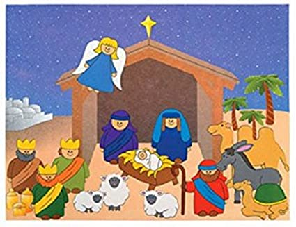 Amazon do it yourself nativity sticker scene 1 dz toys games do it yourself nativity sticker scene 1 dz solutioingenieria Image collections