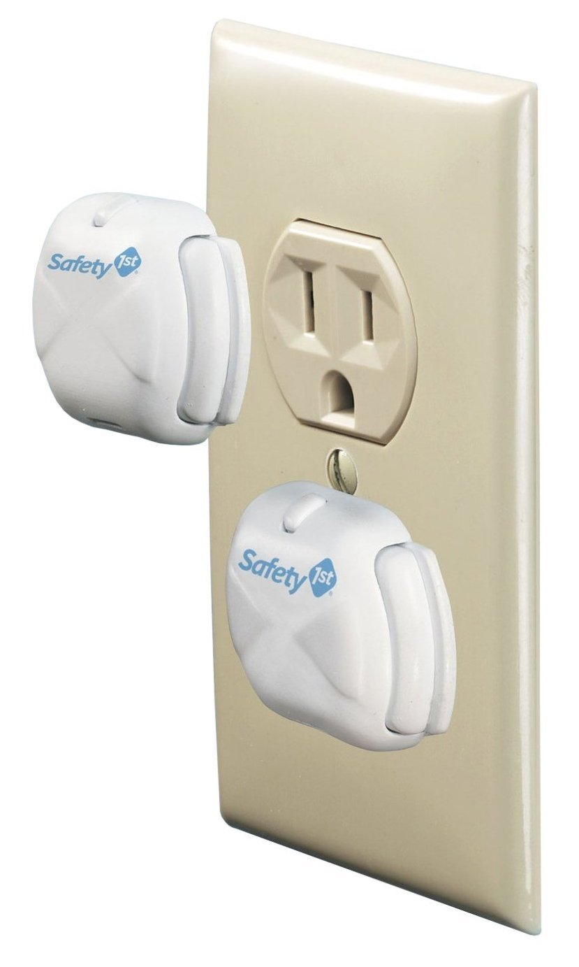 Amazon Com Mommy S Helper Safe Plate Electrical Outlet