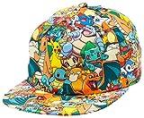 Bioworld Pokemon AOP Sublimated Cap Hat, One Size