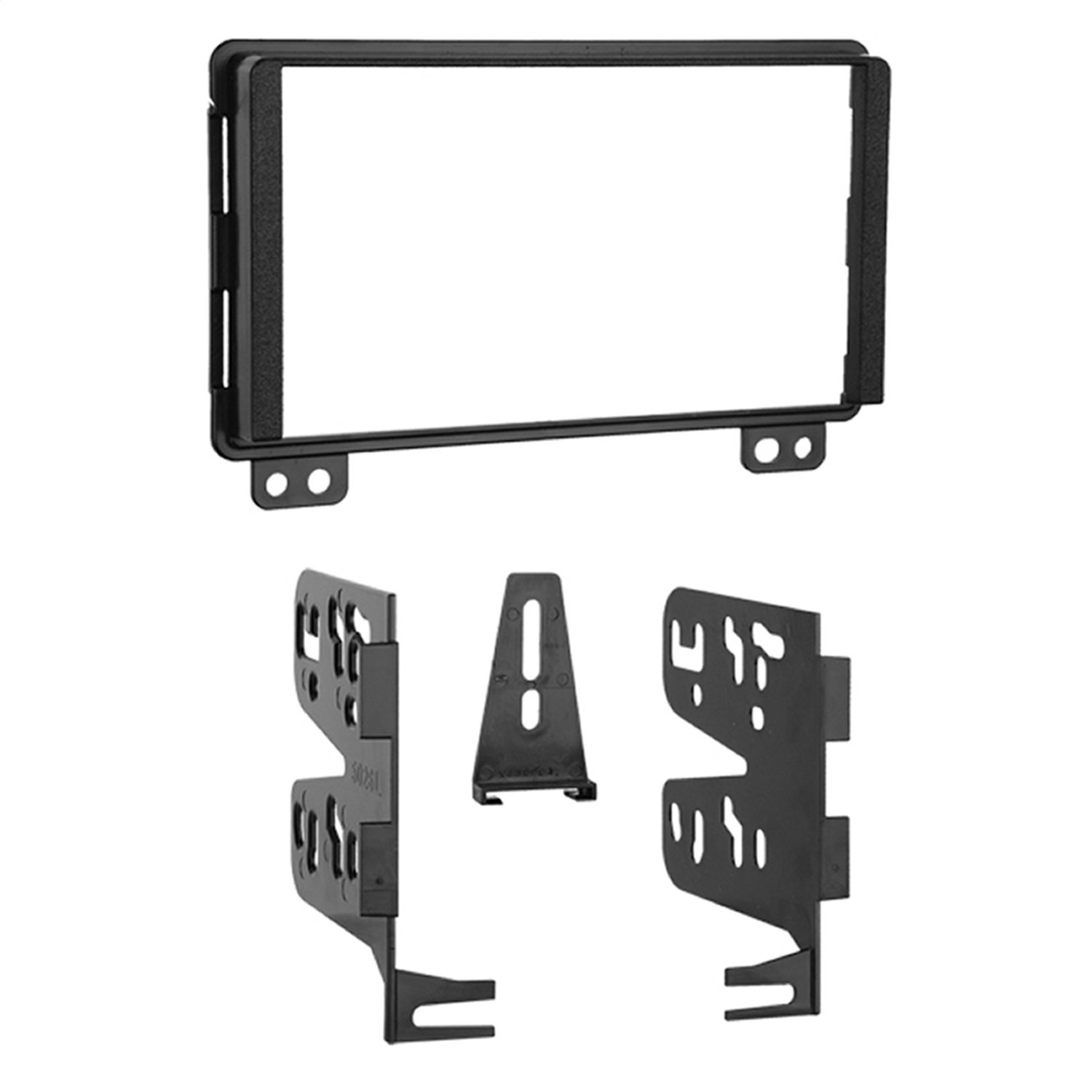 Metra 95-5026 Double DIN Installation Kit for Select 2001-up Ford, Lincoln and Mercury Vehicles (Black) Metra Electronics Corporation