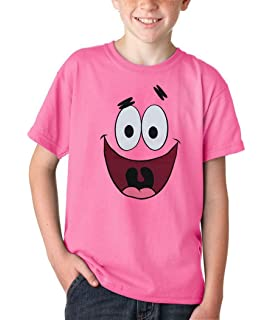 325520a1ba5 Amazon.com  Spongebob Squarepants Patrick Star Face T-Shirt  Clothing