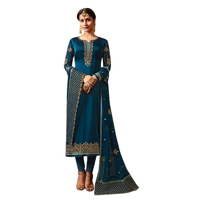 Bollywood Salwar Kameez Vestido de Mujer Traje Punjabi ...