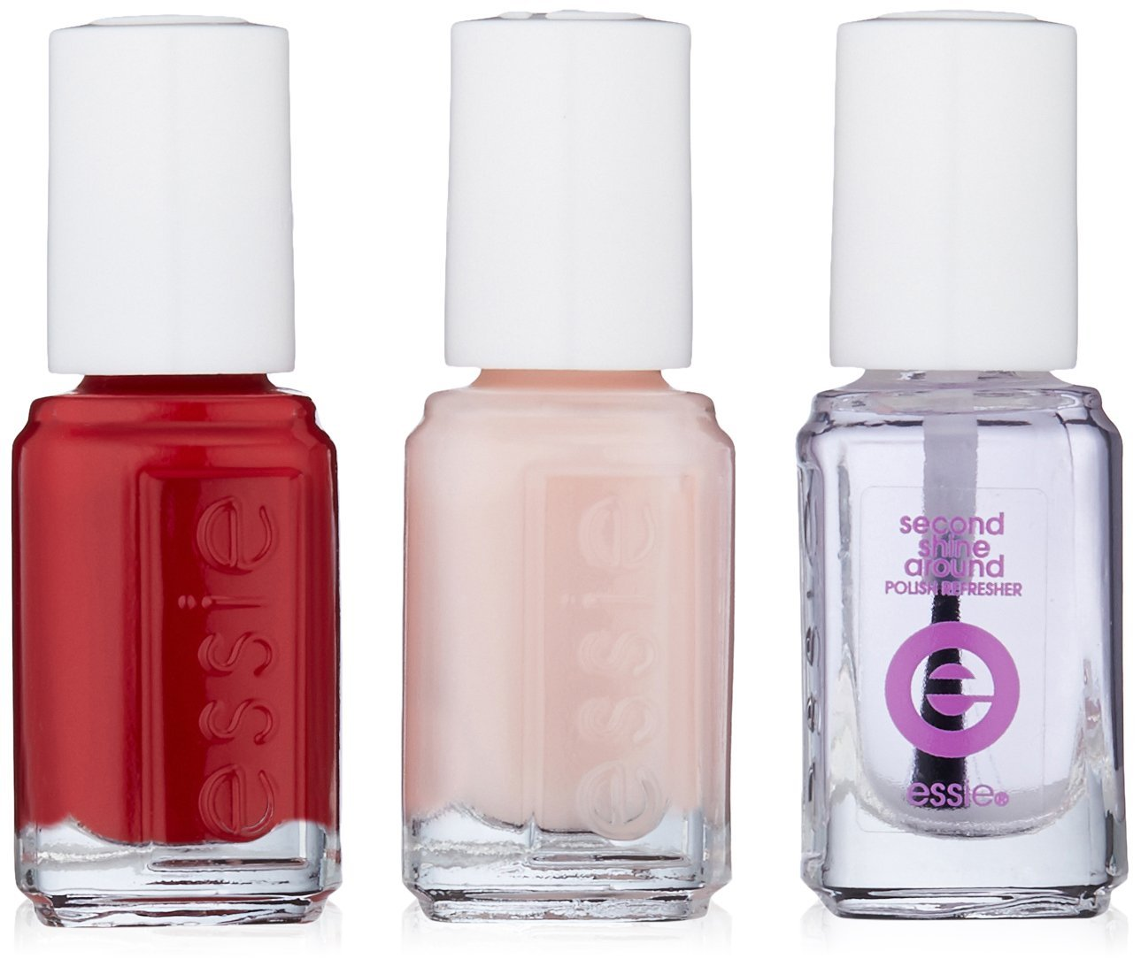 Amazon.com: essie Mini Trio Pink Kit, Forever Yummy/Mademoiselle ...