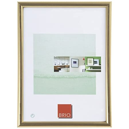 Brio Photo Frame 30 X 40 Cm Gold Amazoncouk Kitchen Home