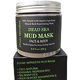 D'vine Wonders Natural Dead Sea Mud Mask 8.8 oz