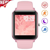 Fullmosa Smart Watch for Android iOS Phone,Fitness Tracker with Heart Rate/Female...